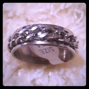 Jewelry - Unisex Stainless Steel Ring